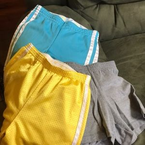 Other - 3 pairs girls shorts size 6-6x